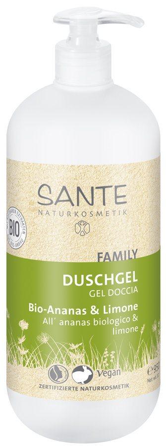 SANTE Duschgel Bio-Pineapple & Lemon 200 ml
