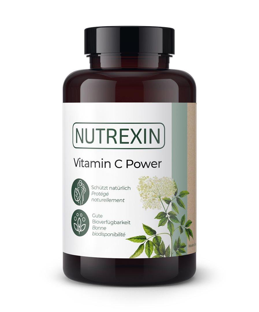 NUTREXIN Vitamin C Power Kapseln 90 Stk.