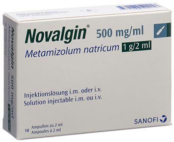 Mg ibuprofen 500 novaminsulfon 600 oder NOVAMINSULFON