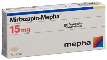 Mirtazapin 15 mg tödlich überdosis Mirtazapin überdosis