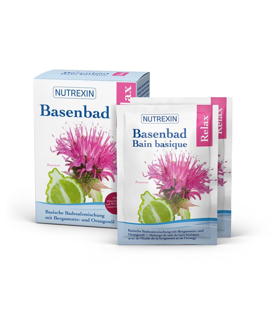NUTREXIN Basenbad Relax Beutel 6 x 60 g