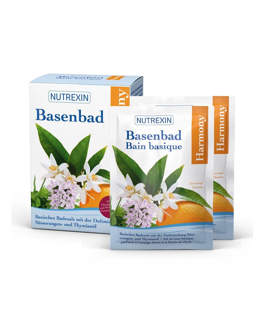 NUTREXIN Basenbad Harmony Beutel 6 x 60 g