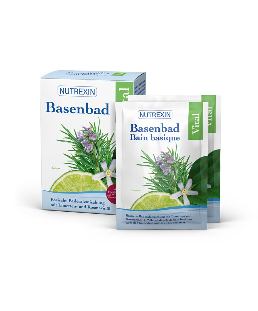 NUTREXIN Basenbad Vital Beutel 6 x 60 g