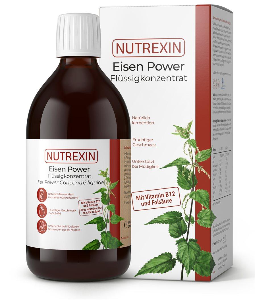NUTREXIN Eisen Power Flüssig-Konzentrat 500 ml